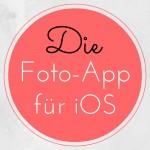 Die beste iOS Foto-App für Fotografen