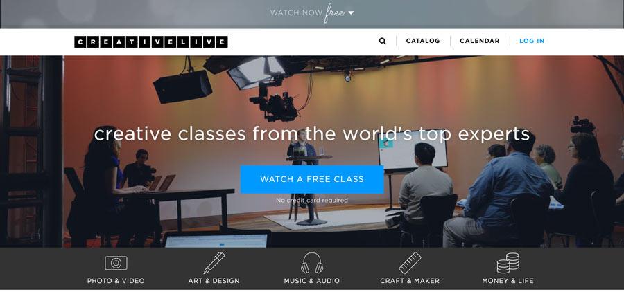 Creativelive - Online lernen