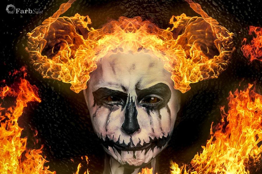 Selbstportrait - PumpkinKing Fire